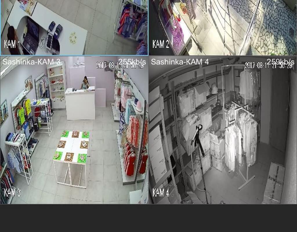 Продается магазин детской одежды в центре - image look_kids_videonabludenie on https://bizneskvartal.ru