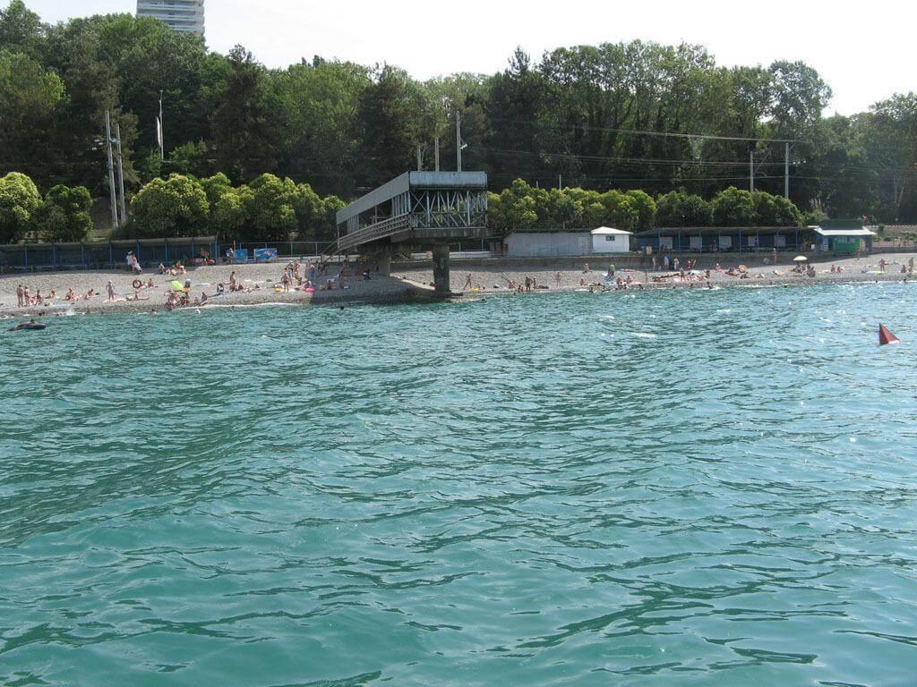 Санаторий с собственным пляжем в Хосте - image Sanatorij-s-sobstvennym-plyazhem-v-Hoste-2 on http://bizneskvartal.ru