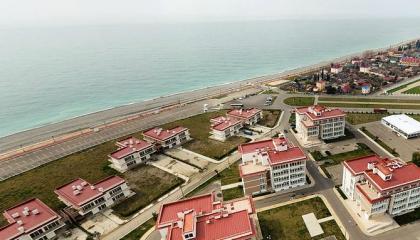 Гостиница с оборудованным пляжем