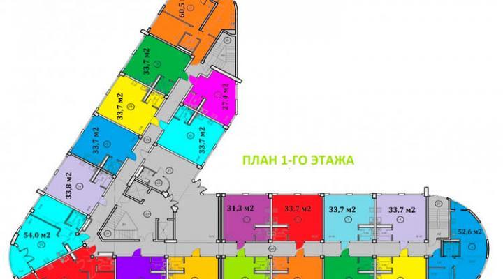 Номер в апартотеле бизнес-класса floorplan 3