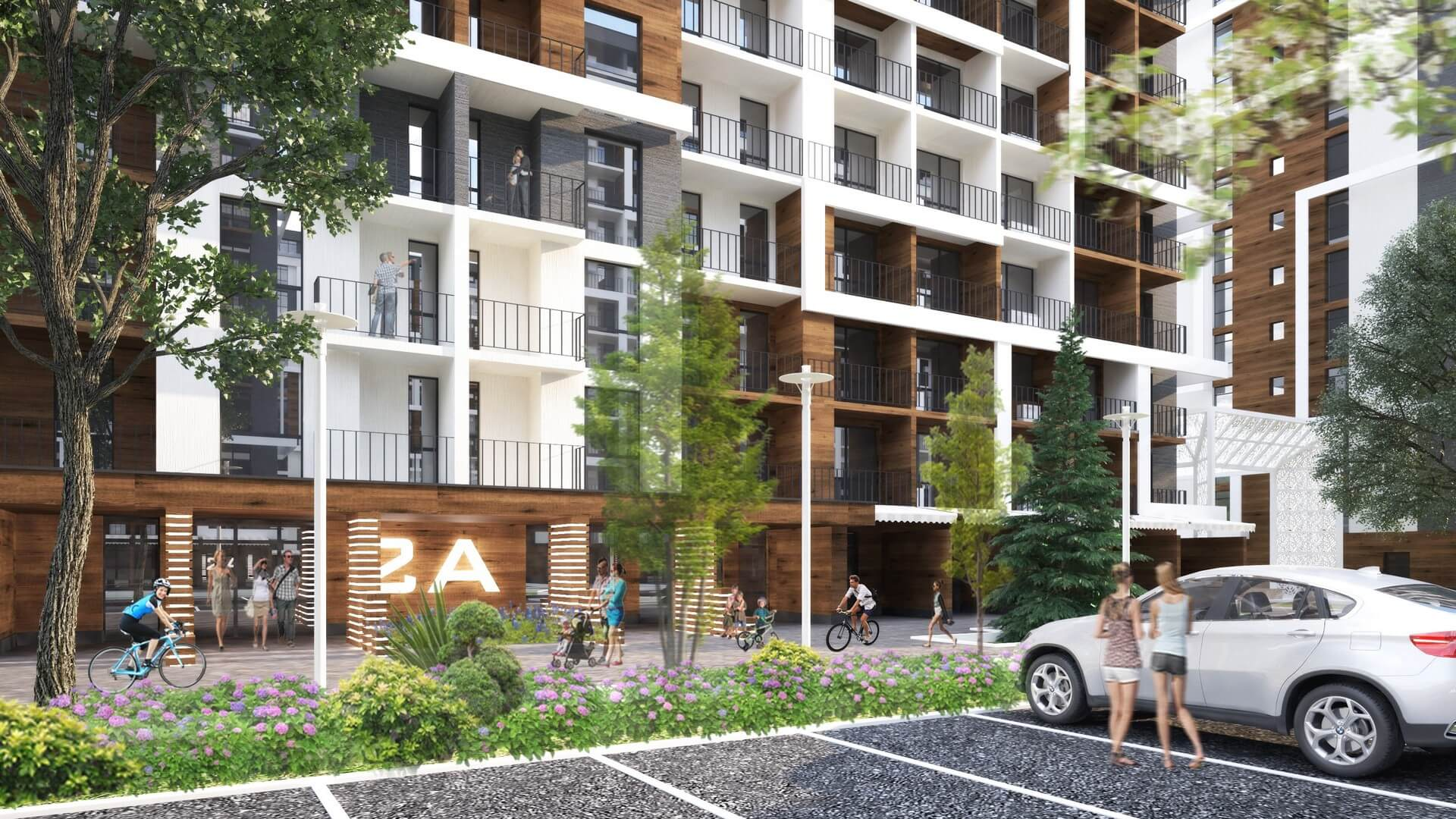 Апартаменты в новом комплексе в Дагомысе - image Apartamenty-na-beregu-s-samoj-chistoj-vodoj on https://bizneskvartal.ru