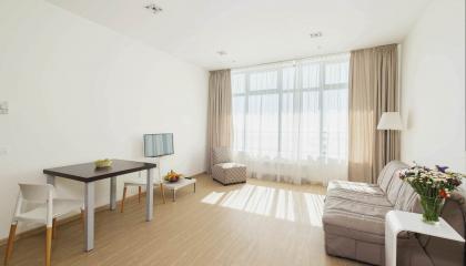 Апартаменты в новом комплексе по ул. Навагинская