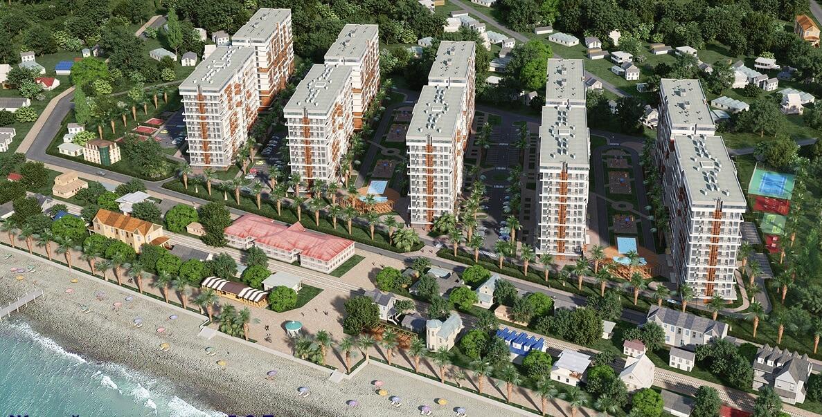 Апартаменты в новом комплексе в Дагомысе - image Apartamenty-v-samom-masshtabnom-apartamentom-komlekse-5 on https://bizneskvartal.ru