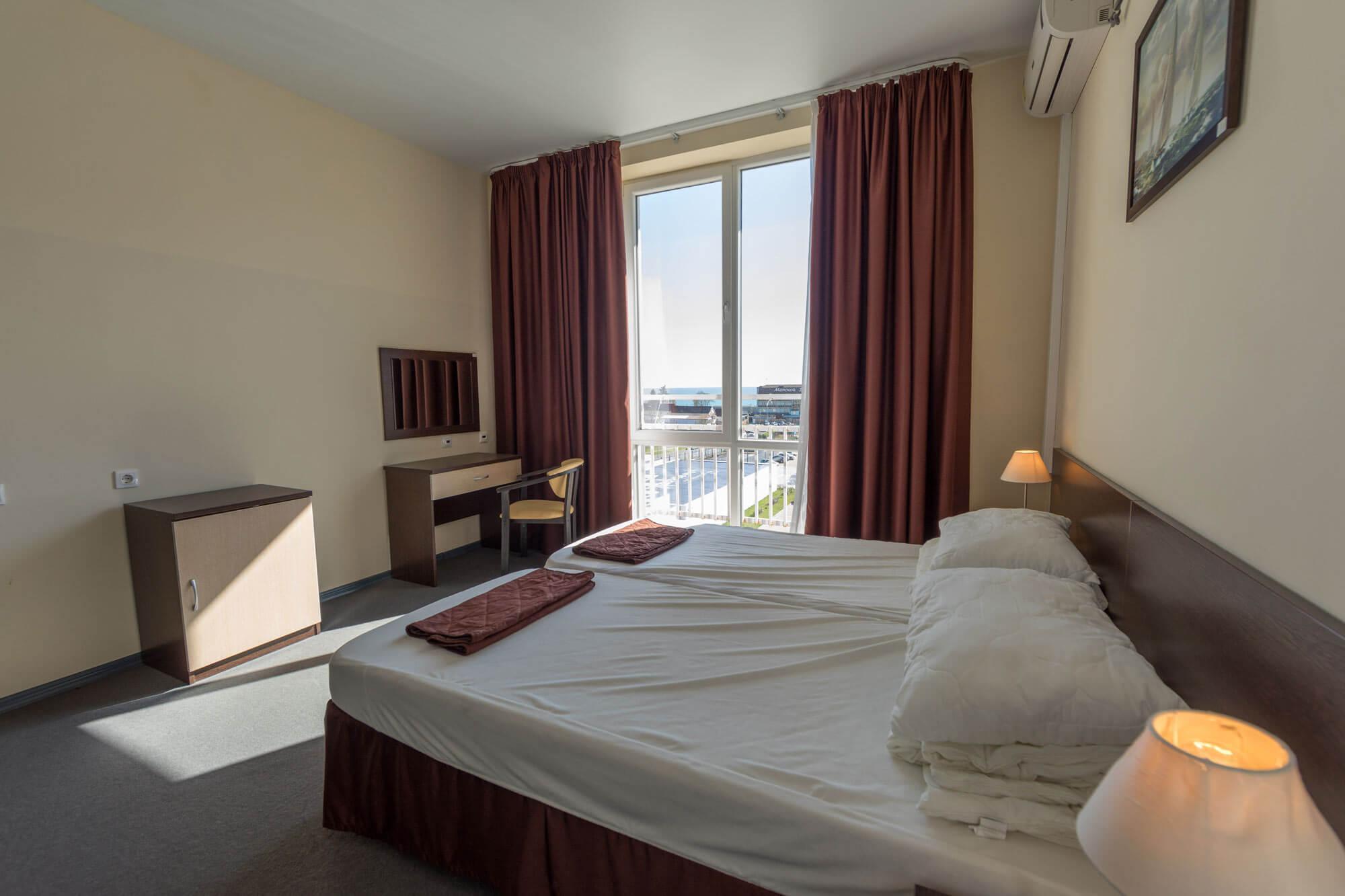 Отдельные апартаменты в новом АК - image Bed-room on https://bizneskvartal.ru