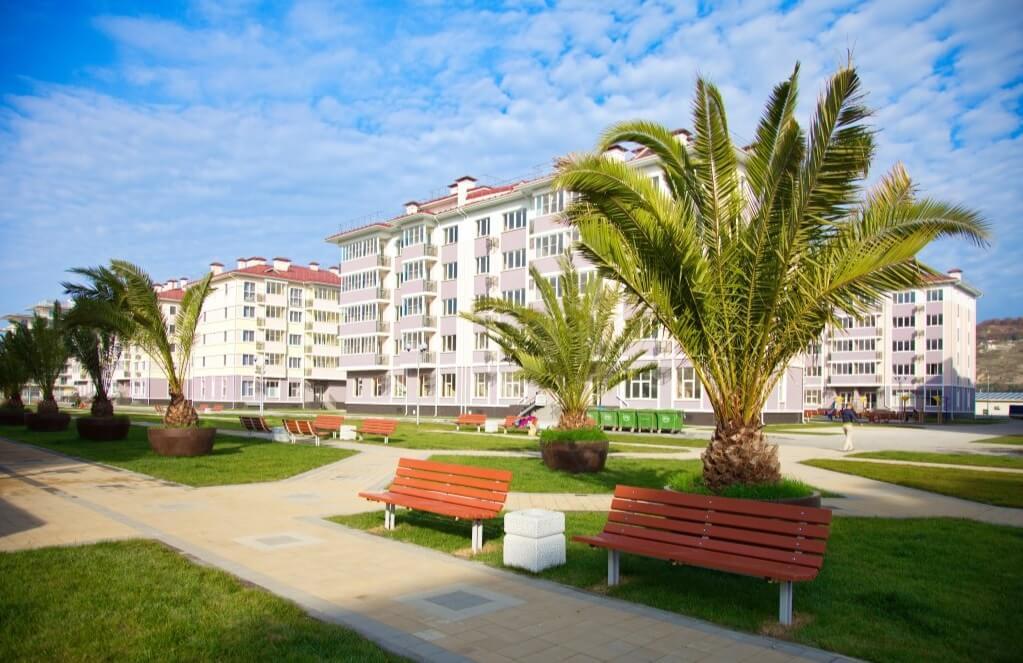 Апартаменты комфорт класса в Адлере - image FrontPlane1-1 on https://bizneskvartal.ru