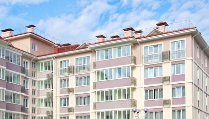 Апартаменты в Адлерском районе фасад здания