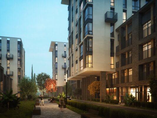 Двухкомнатные апартаменты в новостройке с балконом и видом на море - image Moravia-Men-1 on https://bizneskvartal.ru