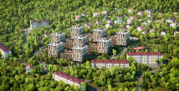 Двухкомнатные апартаменты в новостройке с балконом и видом на море - image MoraviaBirdPlan on https://bizneskvartal.ru