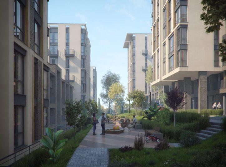 Двухкомнатные апартаменты в новостройке с балконом и видом на море - image MoraviaChild1-1 on https://bizneskvartal.ru