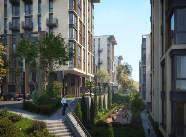 Двухкомнатные апартаменты в новостройке с балконом и видом на море - image MoraviaPlan on https://bizneskvartal.ru