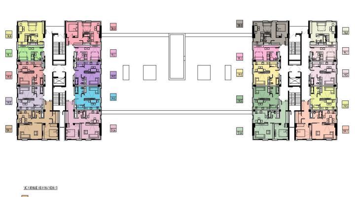 Апартаменты в зеленом районе с видом на горы floorplan 1