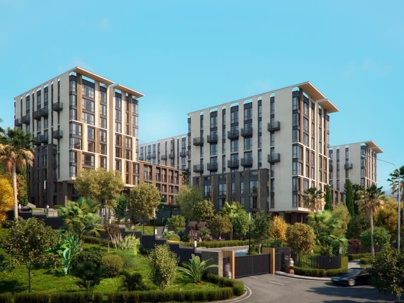 Двухкомнатные апартаменты в новостройке с балконом и видом на море - image MoraviaPlan2 on https://bizneskvartal.ru