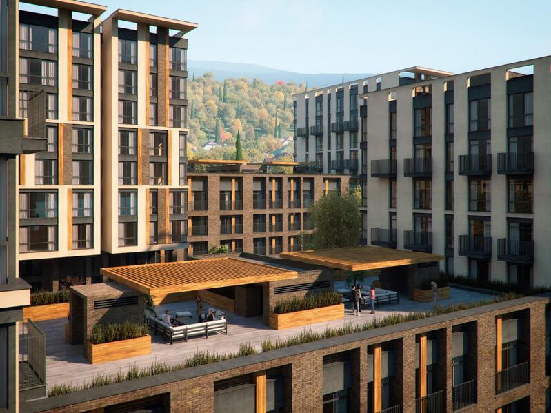 Двухкомнатные апартаменты в новостройке с балконом и видом на море - image MoraviaPlan4 on https://bizneskvartal.ru