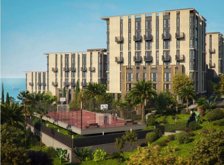 Двухкомнатные апартаменты в новостройке с балконом и видом на море - image MoraviaPlan5 on https://bizneskvartal.ru