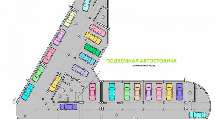 Номер в апартотеле бизнес-класса floorplan 2