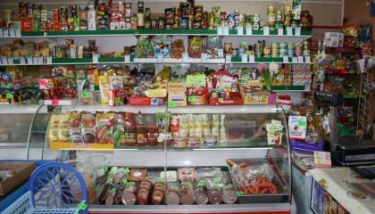 Продуктовый магазин на Донской