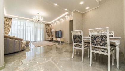 Элитные 3-х комнатные апартаменты в центре Сочи