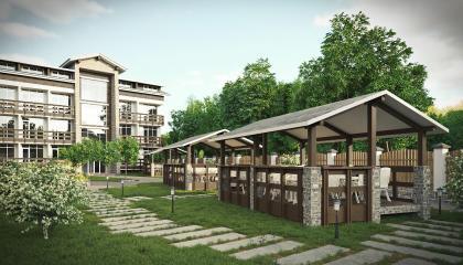 Двухкомнатные апартаменты в Эсто-садок