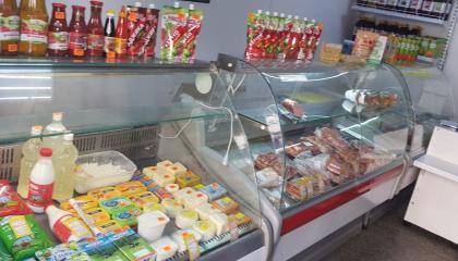 Магазин продуктов на улице Донской