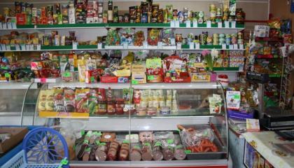 Продуктовый магазин по улице Горького